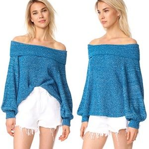 | Free People | Edessa off-the-shoulder sweater